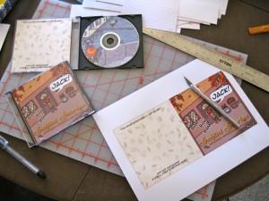DVDs under construction
